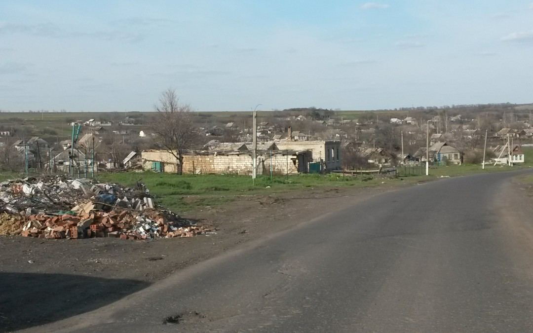 Footage from Stepanovka: A Town Heavily Destroyed by the Ukrainian Army