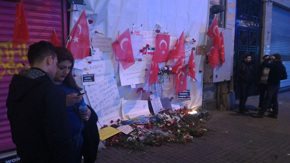 IMPRESSIONS FROM ISTANBUL: TERROR SHATTERS ISTIKLAL STREET